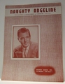 Naughty Angeline- Sheet Music