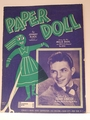 Paper Doll - Sheet Music