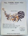 Sheet Music Till There Was You The Music Man 1950