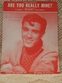 Collectible Sheet Music Are you Really Mine?  Jimmie Rogers