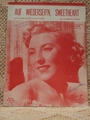 Collectible Sheet Music Auf Wiederseh�n, Sweetheart Vera Lynn