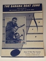 Collectible Sheet Music The Banana Boat Song