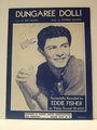 Collectible Sheet Music Dungaree Doll! Eddie Fisher