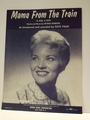 Mama From The Train (A Kiss, A Kiss) - Sheet Music