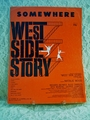 Sheet Music Somewhere West Side Story