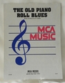 Sheet Music The Old Piano Roll Blues 1950