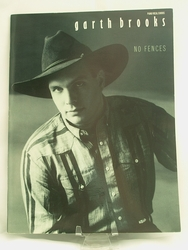 Sheet Music Book Garth Brooks No Fences 1990