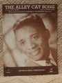 Collectible Sheet Music The Alley Cat Song � Recorded by David Thorne