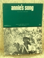 Sheet Music Annie's Song John Denver