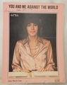 Sheet Music You and Me Against The World Helen Reddy -1974