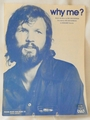 Sheet Music Why Me? Kris Kristofferson 1972