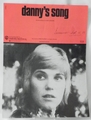 Sheet Music Danny's Song Anne Murray 1973