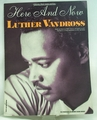 Sheet Music Here and Now Luther Vandross 1989