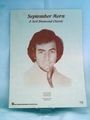 Sheet Music September Morn Neil Diamond Classic 1980