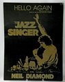 Sheet Music Hello Again Neil Diamond The Jazz Singer 1980