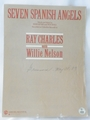 Sheet Music Seven Spanish Angels Ray Charles and Willie Nelson 1985