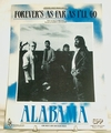Sheet Music Forever's as Far as I'll Go Alabama