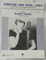 Sheet Music Forever and Ever, Amen Randy Travis 1991