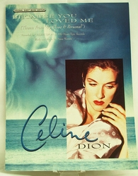 Sheet Music Because You Loved Me Celine Dion 1996