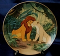 Disney Collector Plate Lion King Courting the Future King 1995 6th Issue