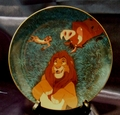 Disney Collector Plate Lion King Stargazing 1996 11th Issue