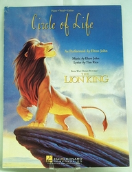 Sheet Music Walt Disney's Circle of Life from Lion King 1994