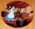 Disney Collector Plate Beauty and the Beast Papa's Workshop