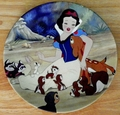 Knowles Disney Collector Plate Snow White With a Smile and a Song