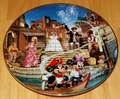 Disney Collector Plate Pirates of the Caribbean 1996 Issue 5 of 12 Disneyland's 40th Anniversary Series