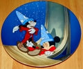 Disney Collector Plate Fantasia Series Dreams of Power