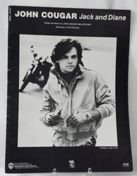 Sheet Music Jack and Diane John Cougar 1982
