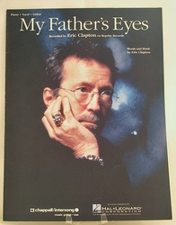 Sheet Music My Father's Eyes Eric Clapton 1992