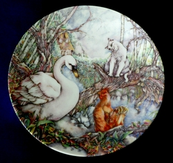 Collector Plate Grande Copenhagen You Don't Understand Me 4th Issue in the Ugly Duckling Series 1986
