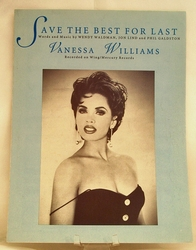 Sheet Music Save the Best For Last Vanessa Williams 1992