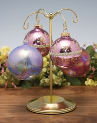 Brass Base Ornament Tree Stand Temp Out of Stock