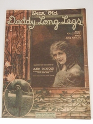 Collectible Sheet Music Daddy Long Legs Mary Pickford
