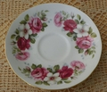 Saucer Only Queen Anne Pattern # 8644 Floral Roses