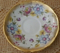 Elizabethan China Saucer Only #2907S Floral Gold Trim