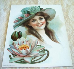 1906 Victorian Lithograph Gray Lithograph Company of New York