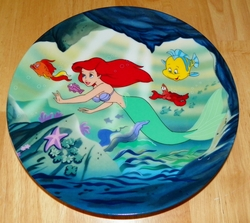 Walt Disney Classic Collector Plate Little Mermaid with Original Box SOLD