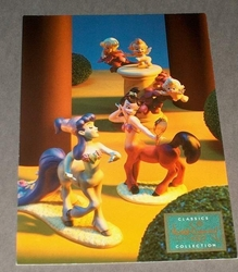 Post Card WDCC - Cupids & Centaurettes Fantasia