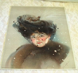 Early 1900 Victorian Lithograph