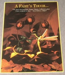 Post Card WDCC - A Fairy's Touch LE Fantasia