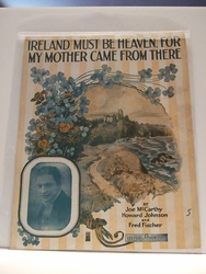 Collectible Sheet Music Ireland Must Be Heaven For my Mother Came From There