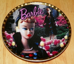From Barbie With Love Collection Easter Parade Mini Collector Plate # 655074 SOLD