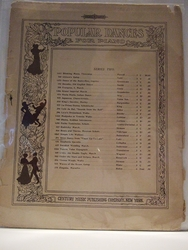 Collectible Sheet Music Skirt Dance from Faust Up-To-Date