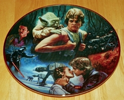 Collector Plate Star Wars Trilogy The Empire Strikes Back