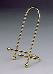 Decorative Gold Finish Easel 4 inches