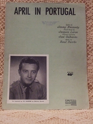Collectible Sheet Music April in Portugal