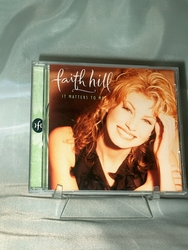 Audio CD Faith Hill It Matters to Me